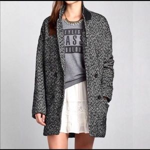 Abercrombie and Fitch Tweed coat